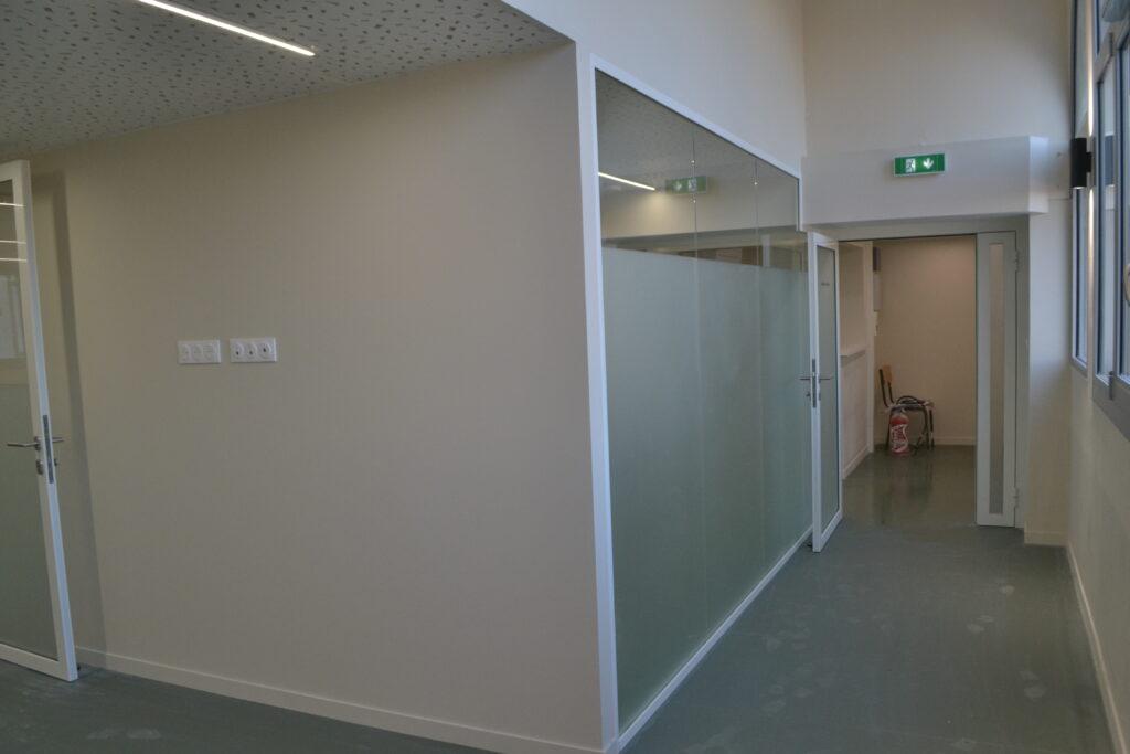 travaux de seconds œuvres : nous avons mis en place des complexes thermique afin d'isoler par l'intérieur les murs périphériques