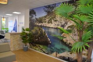 Orange Marseille travaux aménagement bureaux cloisons