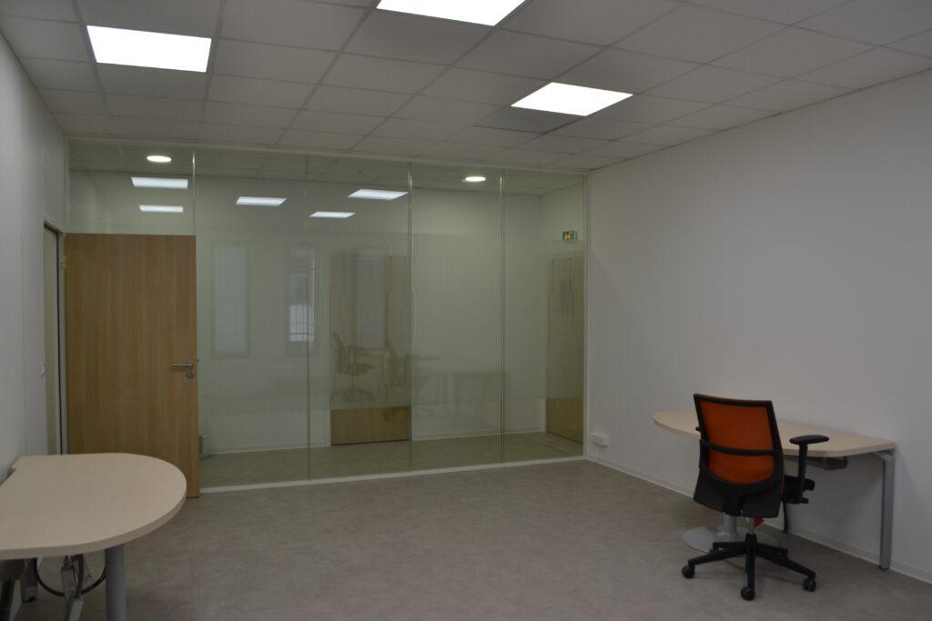 chantier ABFC cloisons aménagement espaces