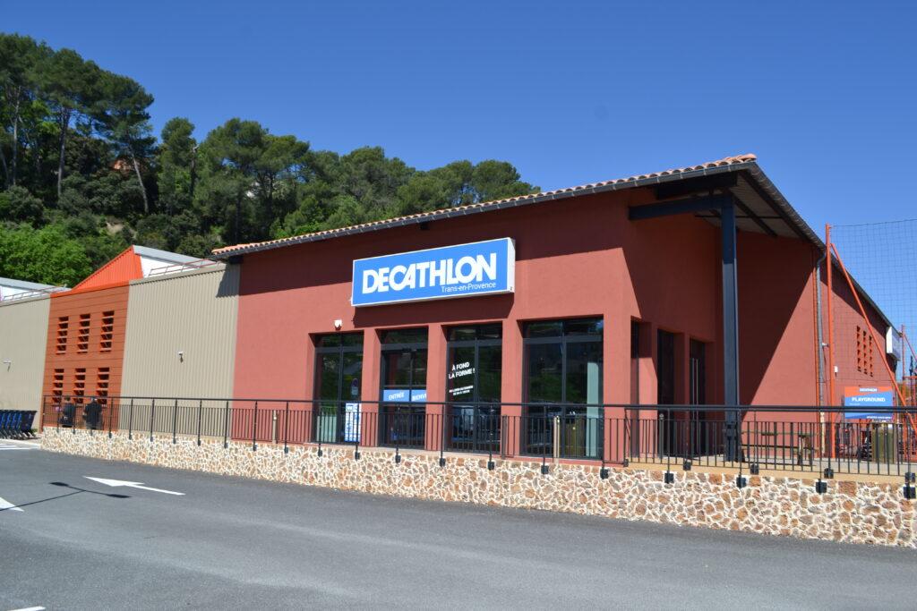 Chantier Decathlon Trans en Provence