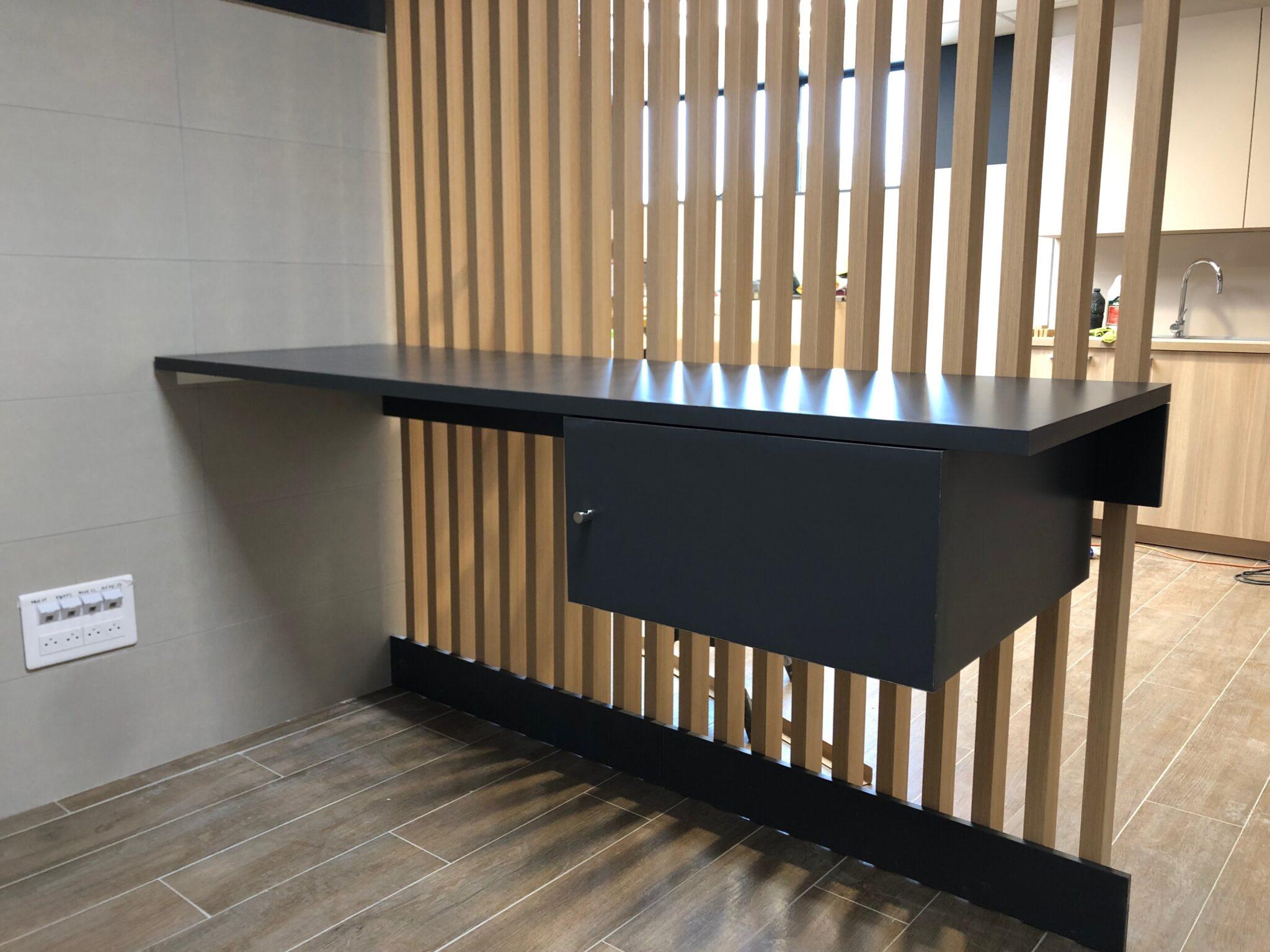 Chantier Lidl Chateaurenard aménagement d'espaces cloisons plafond