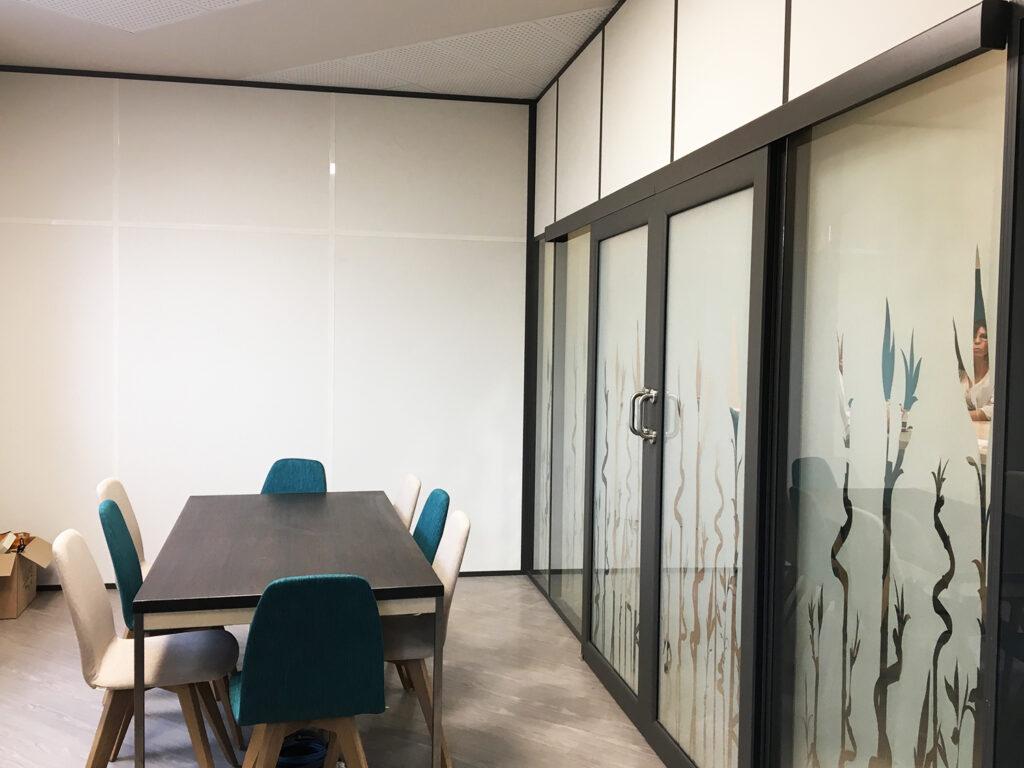 Cloisons amovibles bureaux entreprise marseille PACA